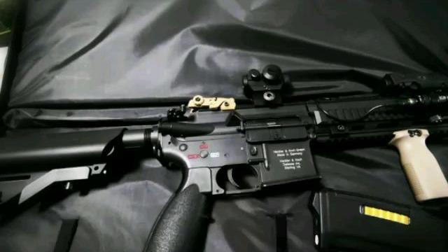 LDT HK416演示及换弹方法