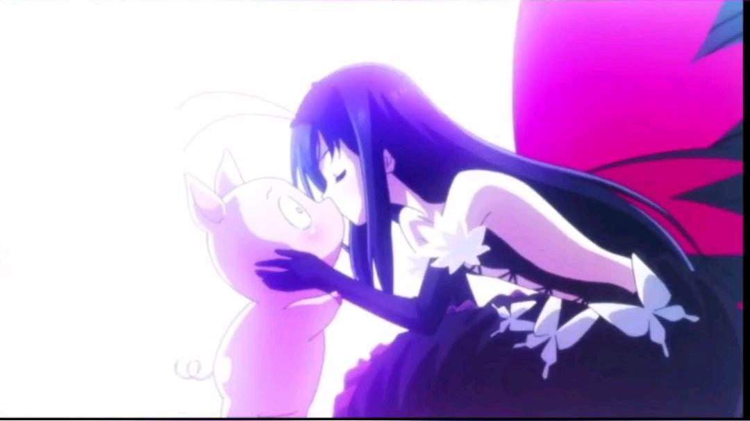 动漫中的亲吻画面【Bgm:处处吻】