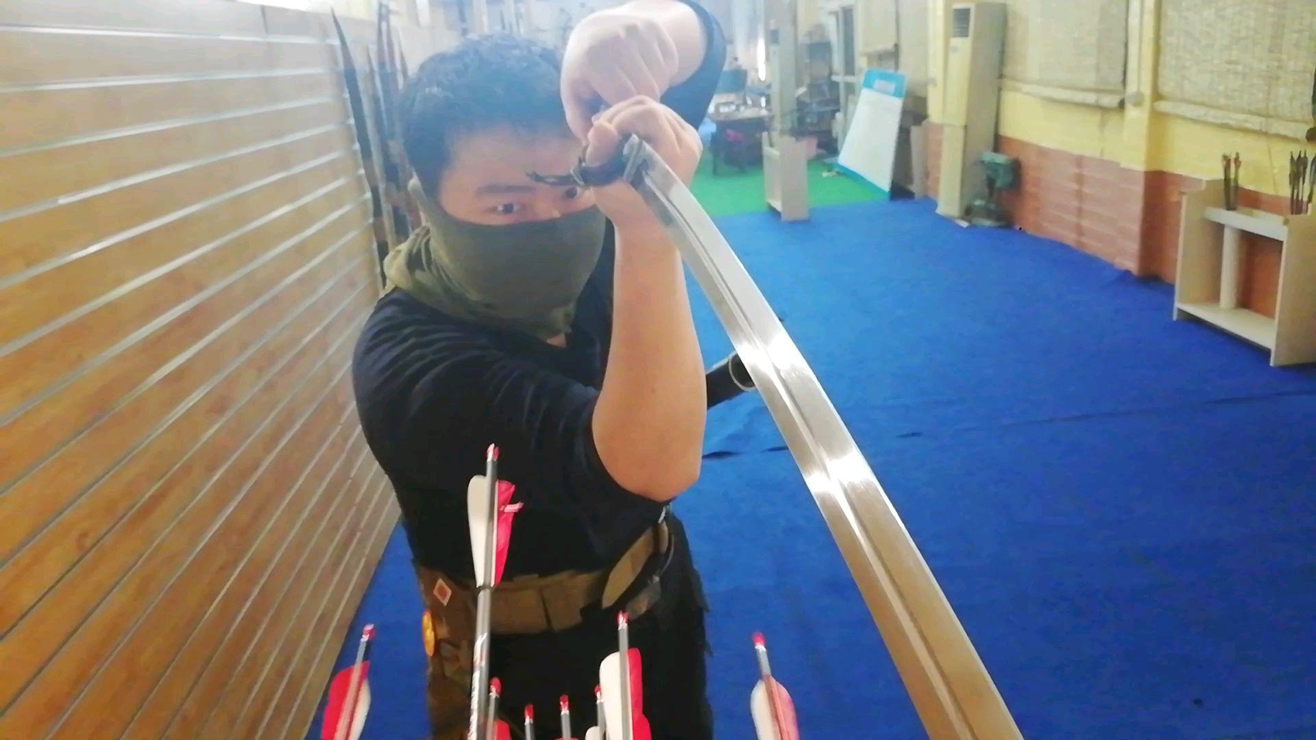 传统弓,靶子第一人称视角,你已经死了