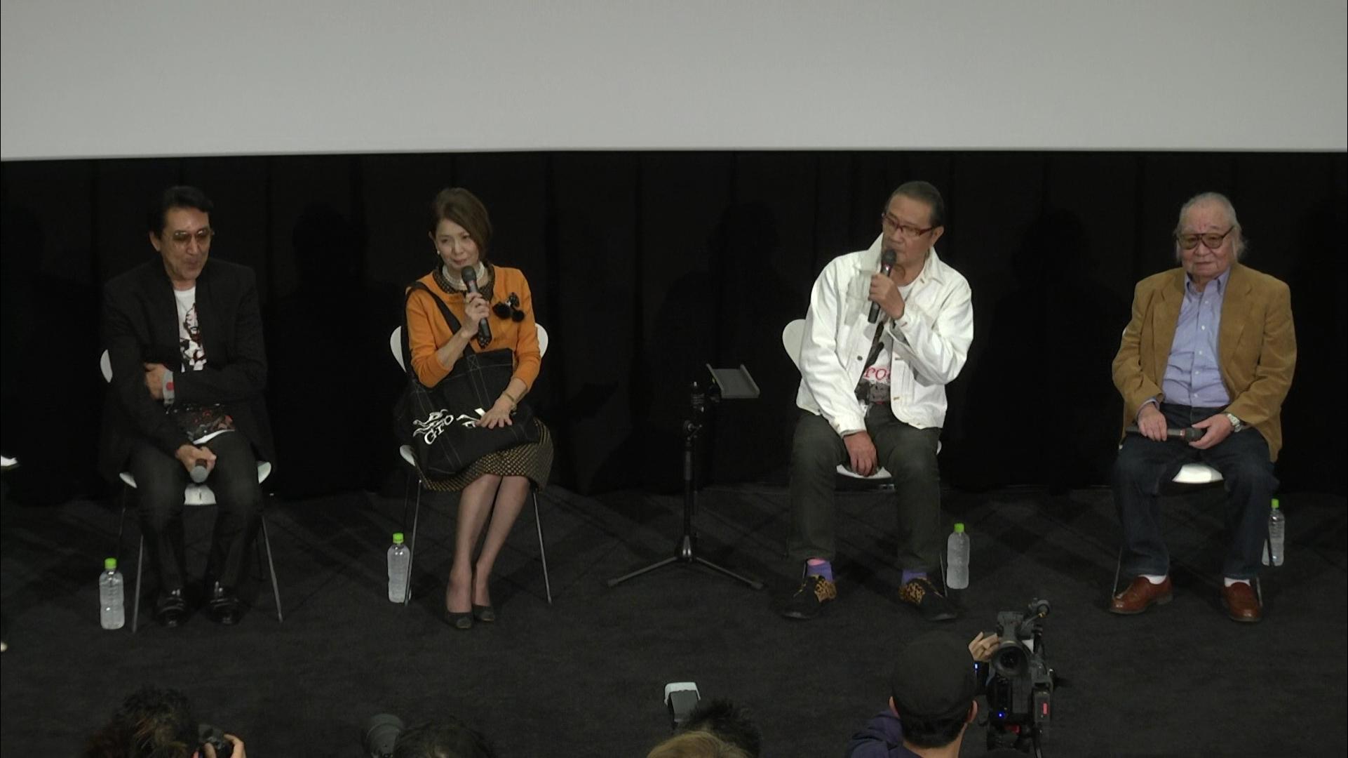 赛文奥特曼  东京国际电影节上映见面会