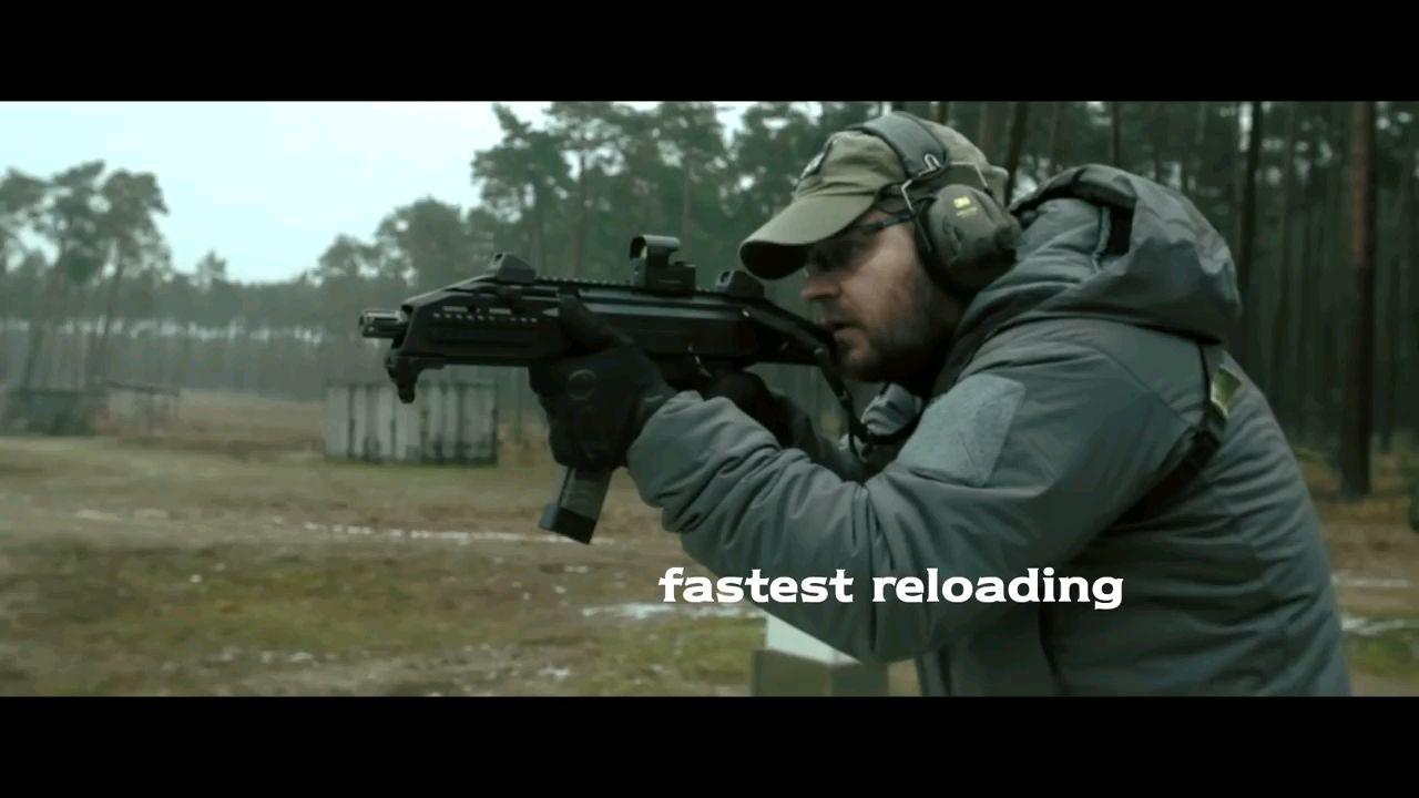【武器展示】CZ 蝎式 EVO 3 A1 testing