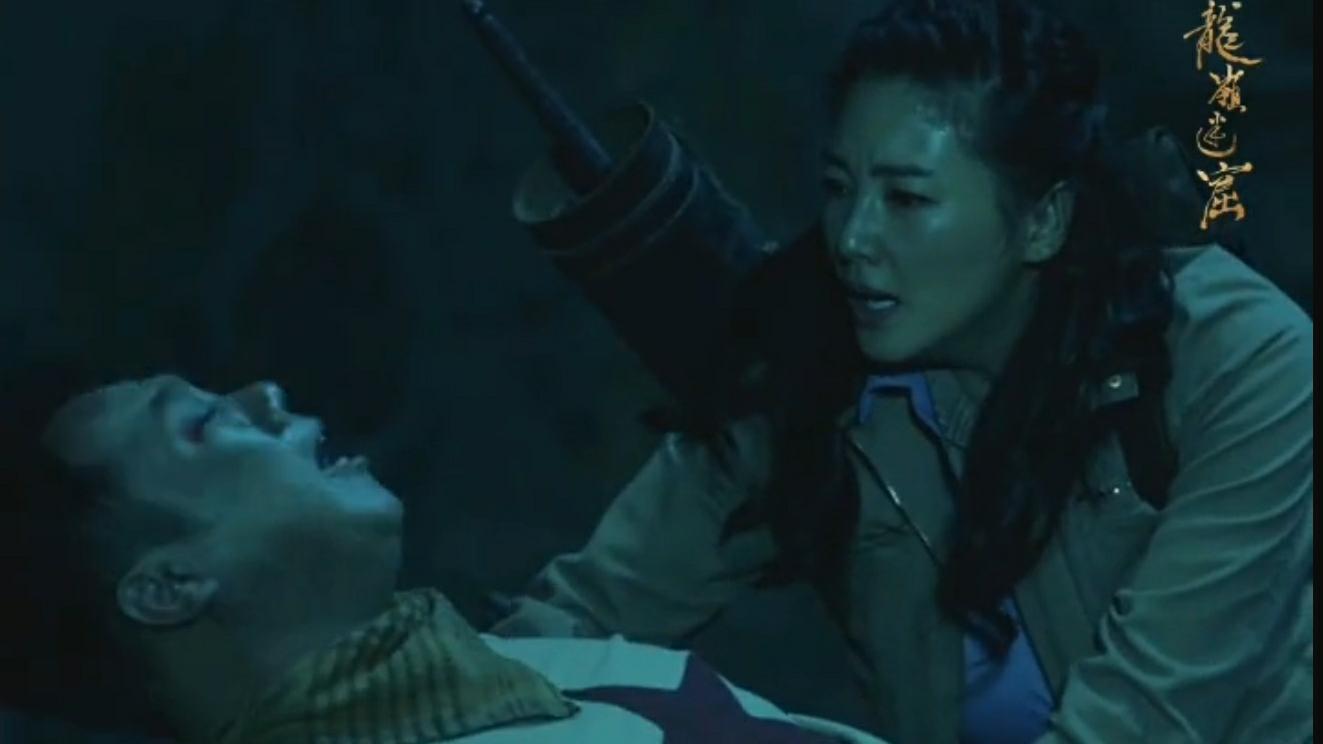张雨绮动作戏 Shirley杨为救王胖子  大战食人鱼!