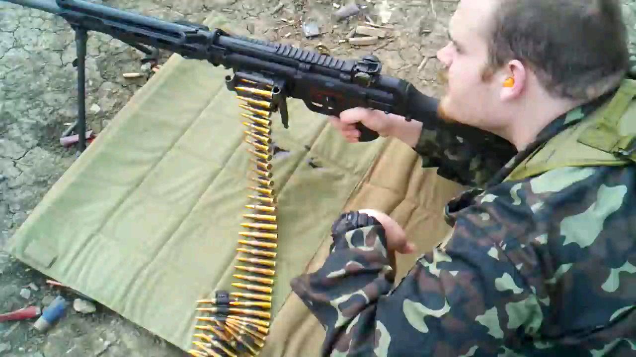 HK21全自动机枪