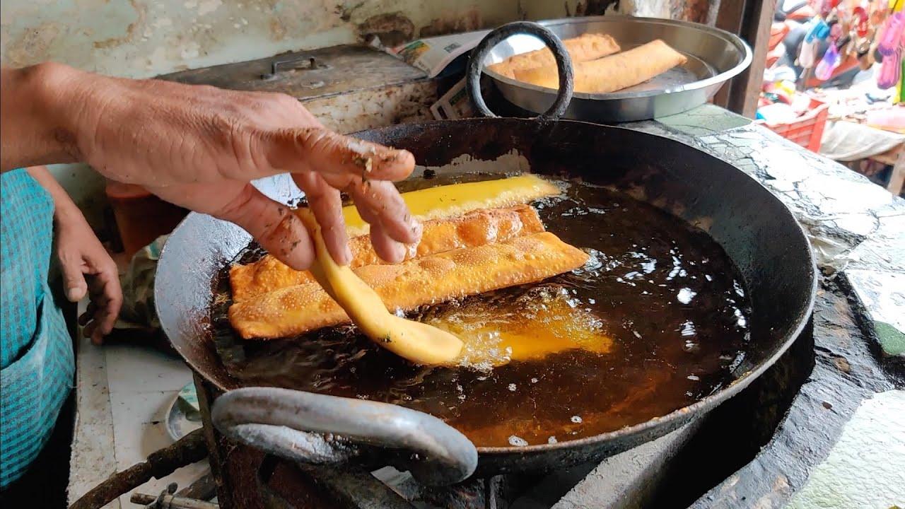 那格浦尔最受欢迎的早餐| 印度街边小吃