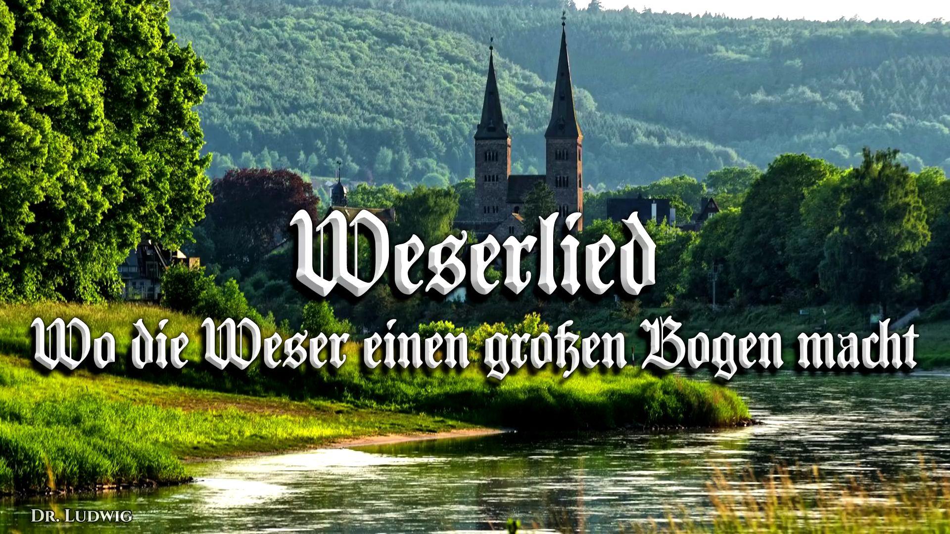 Weserlied[威悉河之歌][德国民歌][+英语歌词]