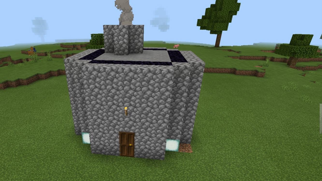 [我的世界建筑]:如何快速建造出石头屋