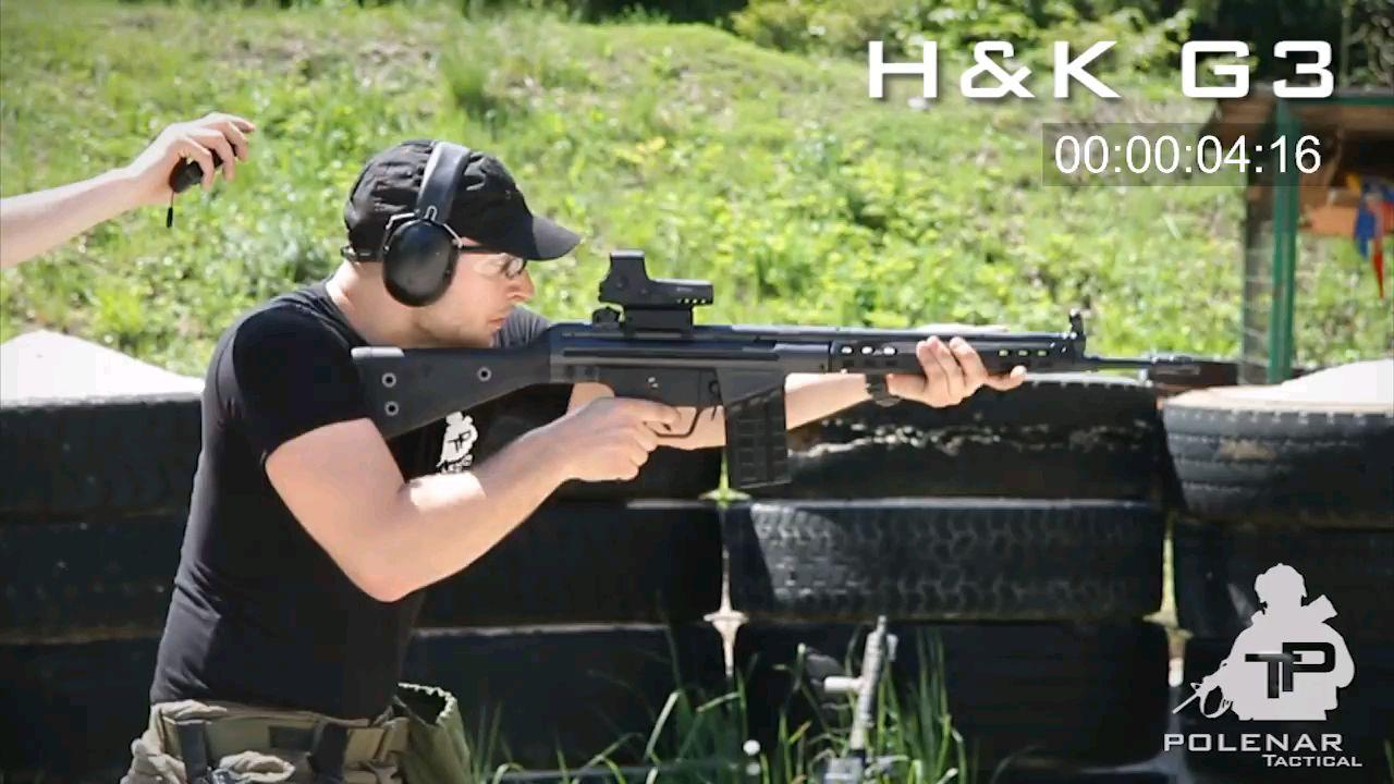 【武器展示】AK47 vs HK 416 vs HK G3