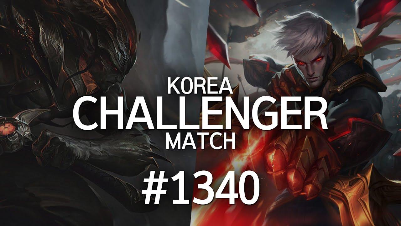 韩服最强王者菁英对决 #1340 丨哈saiki