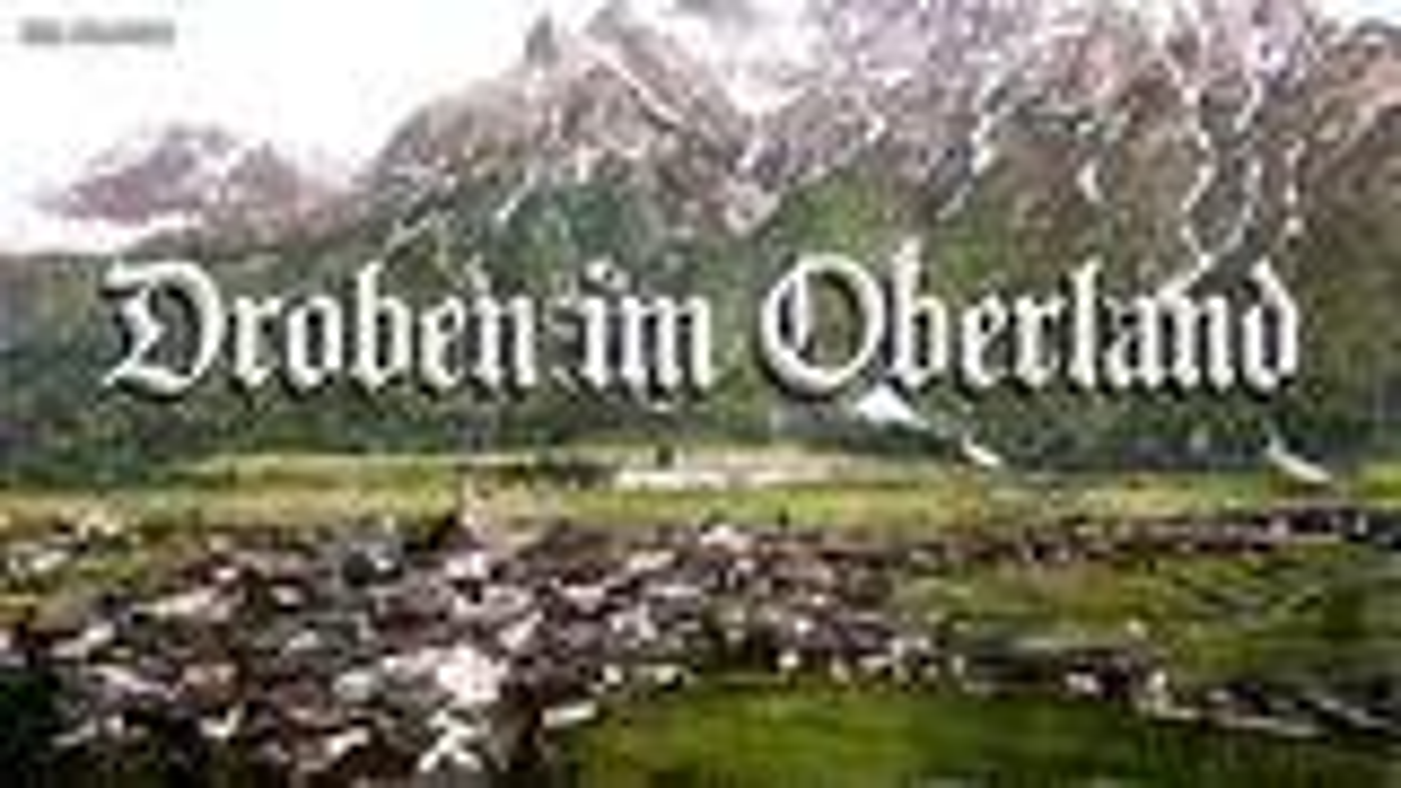 Droben im Oberland[伯尔尼高原之上][德国民歌][+英语歌词]