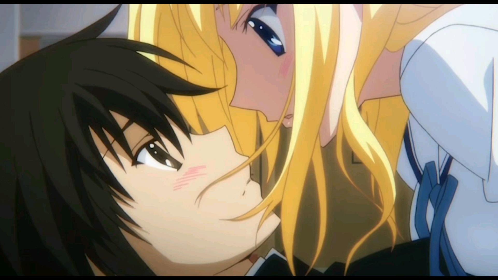 百看不厌,男主被强吻的动漫名场面