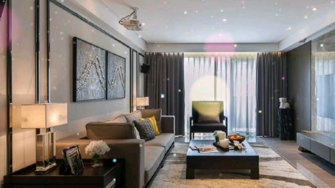 高级灰·现代风格家居装修设计案例,以人为本·功能为先,简洁大气! 
