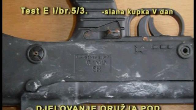 克罗地亚 HS Produkt VHS-1小铳在北约标准指引下进行可靠性测试(2009)