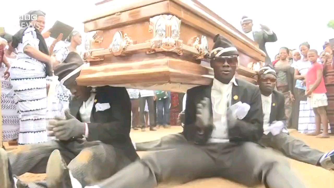黑人抬棺真正原版视频