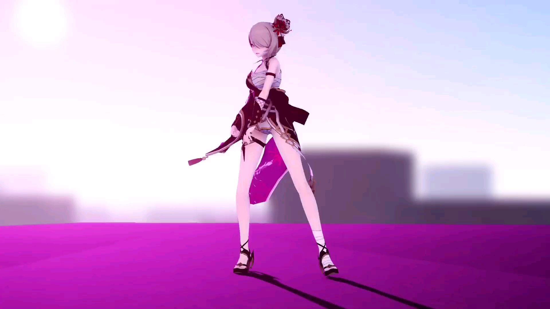 【崩坏3MMD】舰长我的腿白吗?