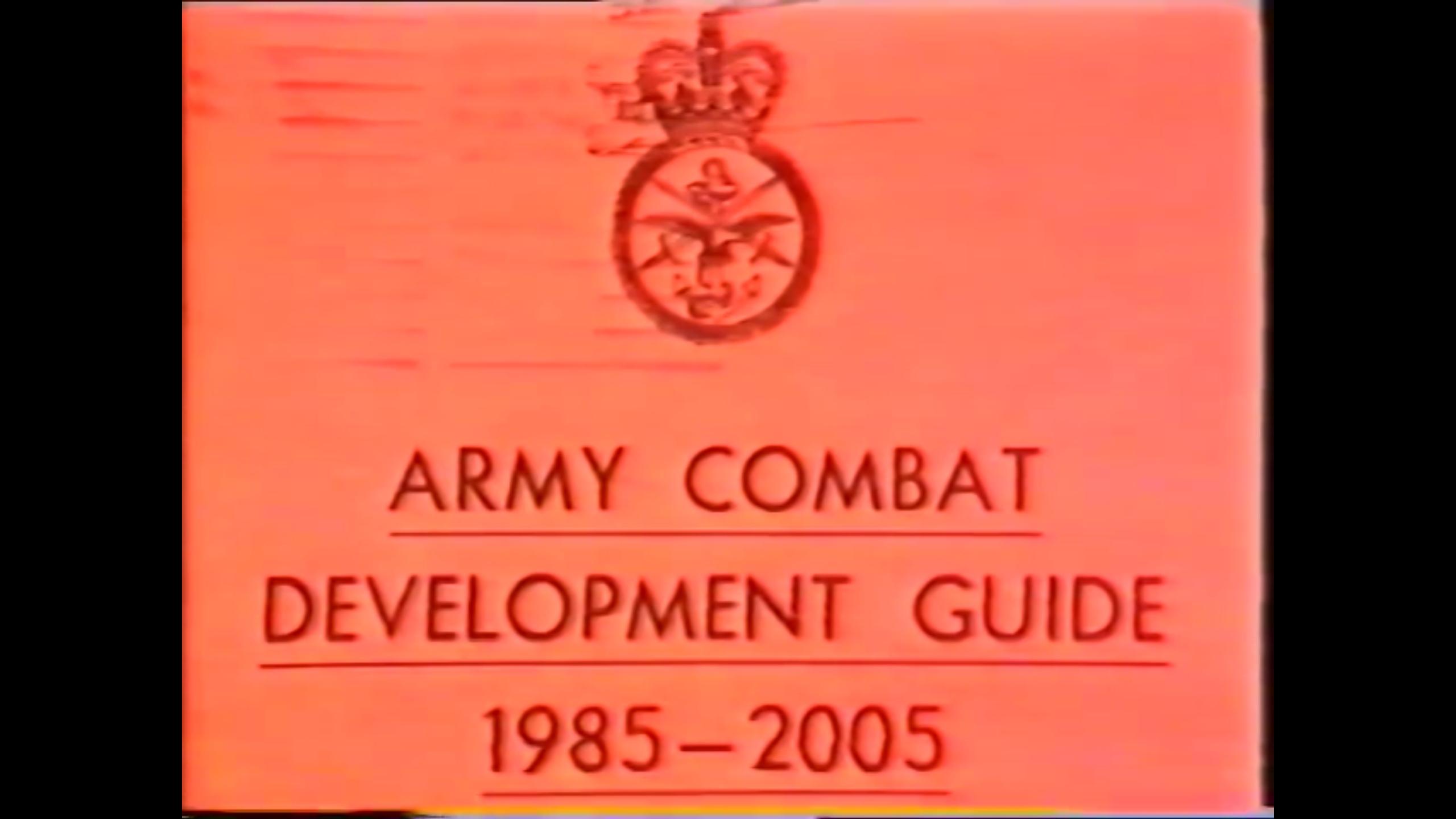 【英语/熟肉/远古】1985年英国陆军装备发展计划简报(1985-2005年)