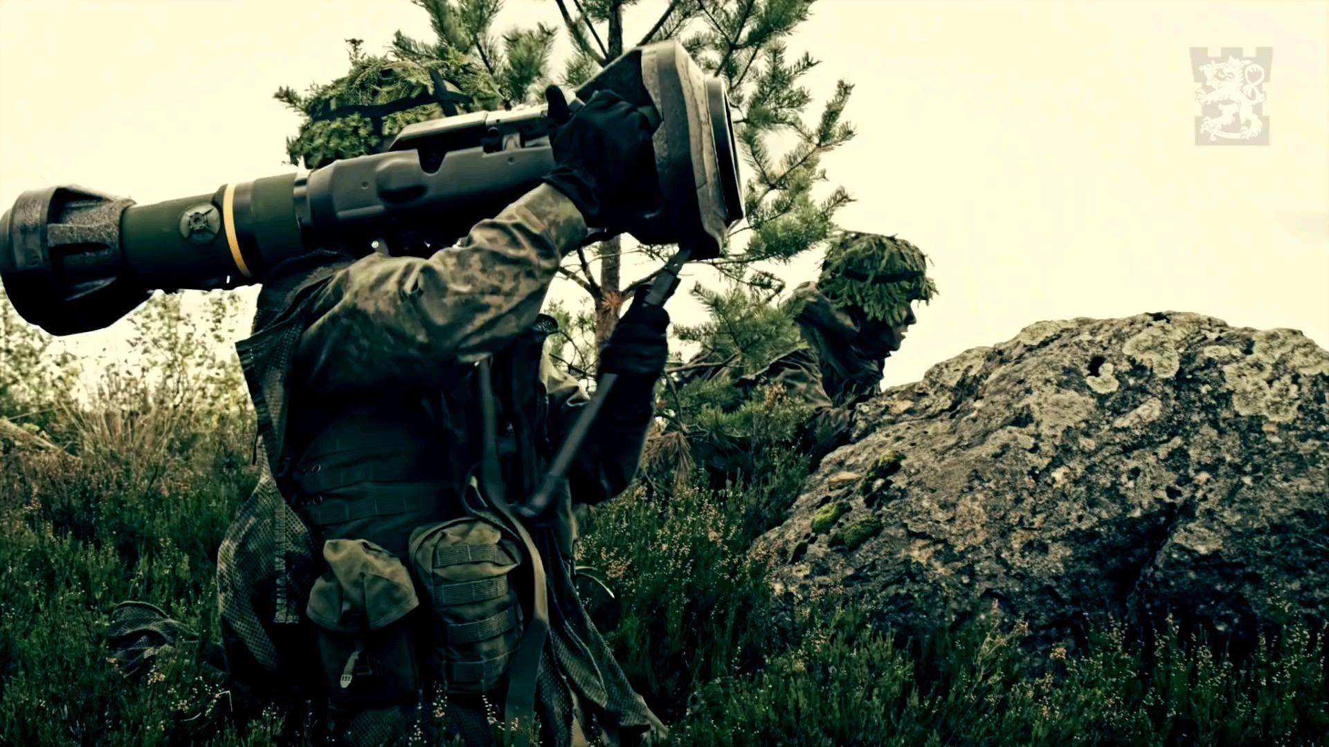 【熟肉/芬兰语】芬兰国防军军教片-知识,意志与利器-如何在战场上运用便携式导弹