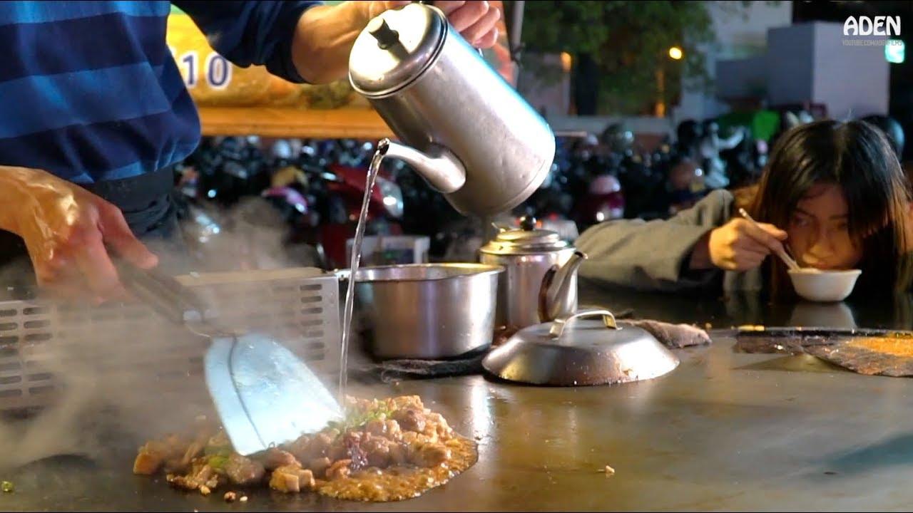 夜市铁板烧-台湾街头美食