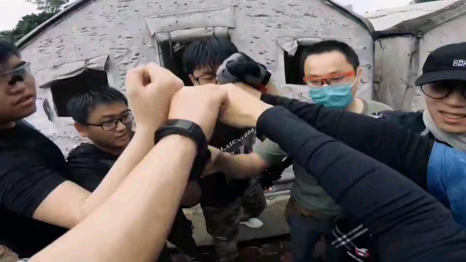 黑鸦战队精彩战斗片段