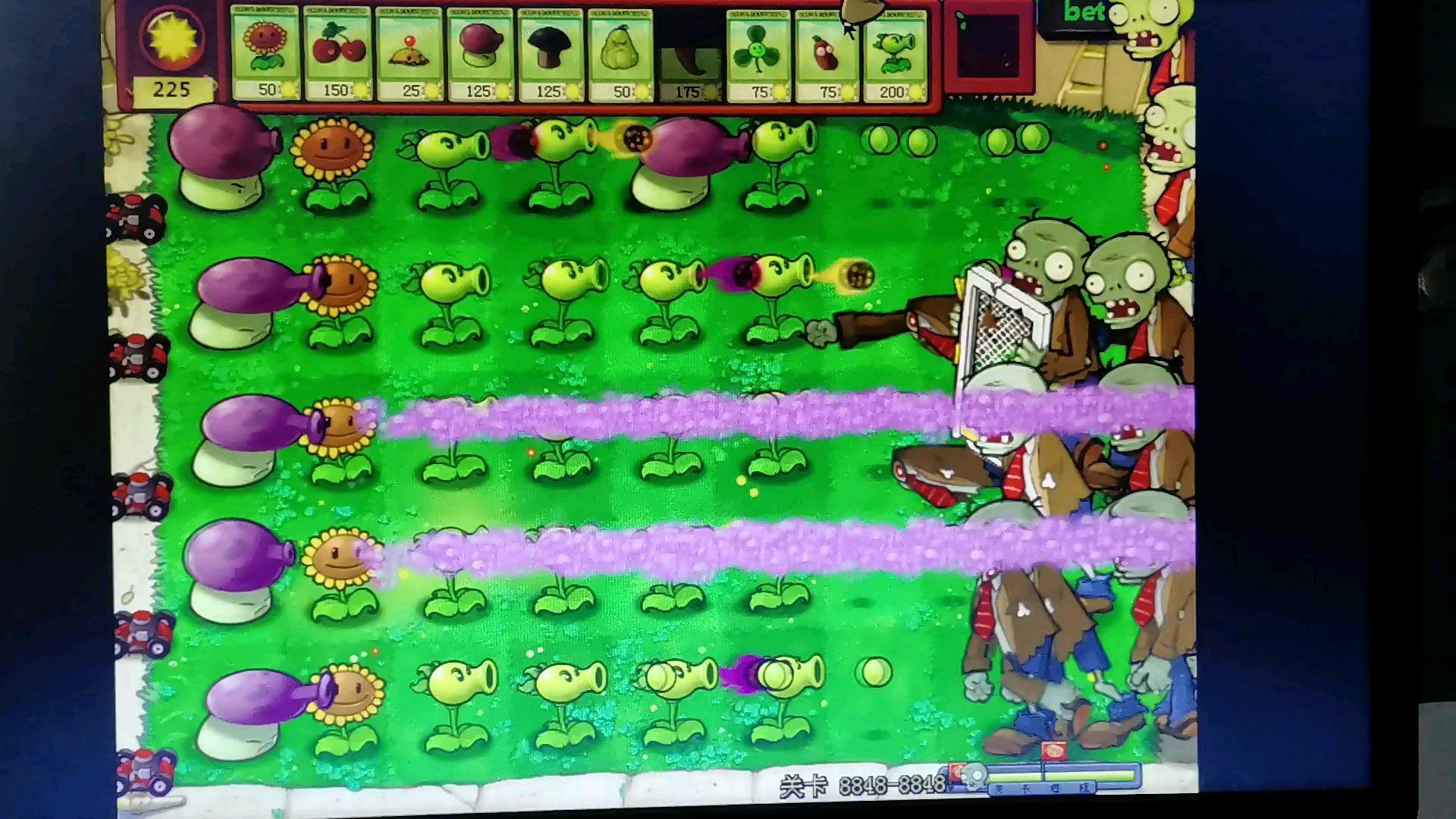植物大战僵尸贝塔版隐藏小游戏8848—8948