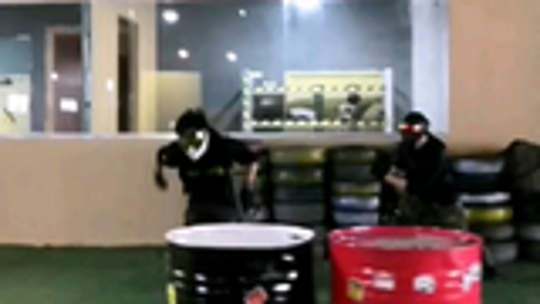 【水弹玩具】济南高新巴巴罗萨SQB俱乐部战斗视频