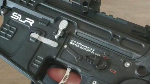 【水弹玩具】slr连发扳机扣到底为什么断电呢?是扳机问题还是开关组呢?