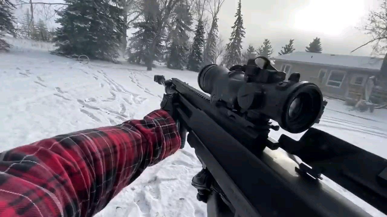 第一视角射击Gepárd M6 山猫反器材步枪