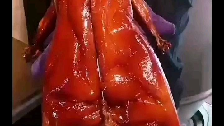烧鹅烧鸭如何做到皮油亮?#美食