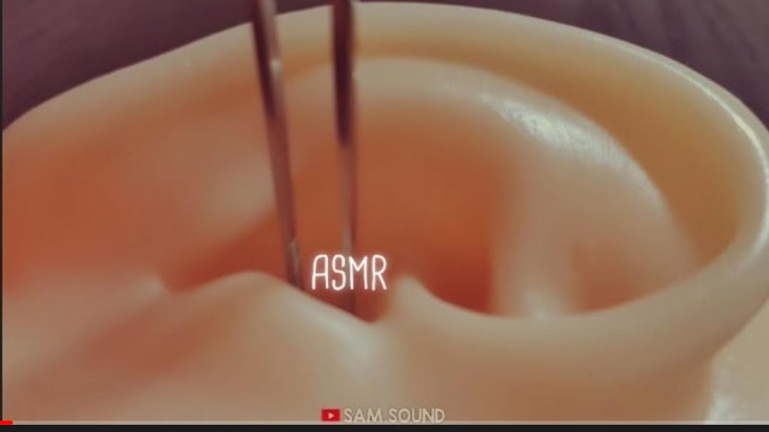 【SAM sound】穿透耳膜的耳朵清洁(无人声掏耳)