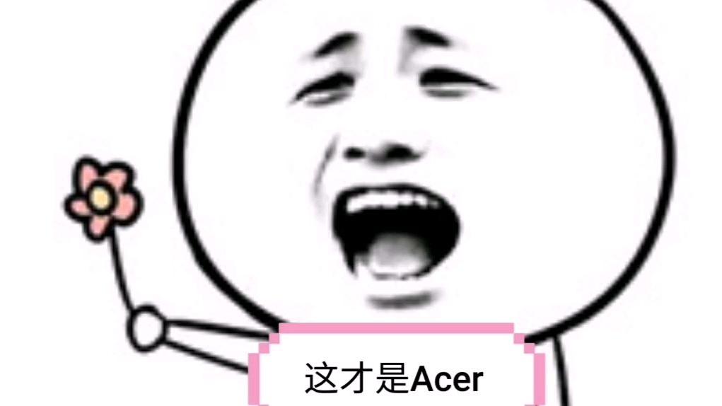 """【可能这就是Acer吧】我是""""单推人"""""""