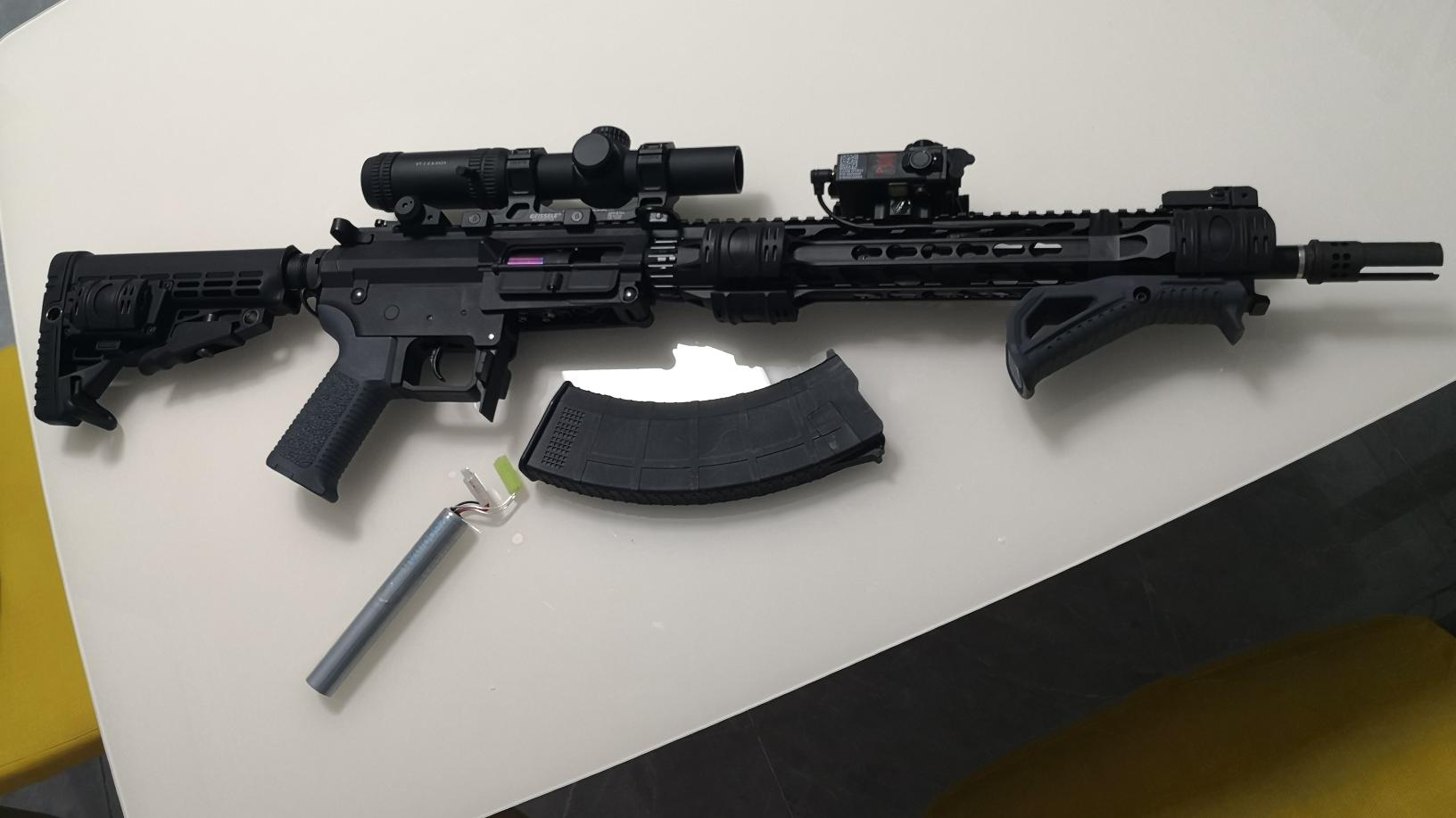 水弹枪 MK47 发现者0.8 沃德森a2