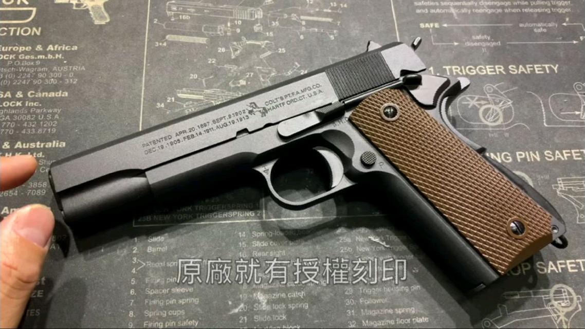 【转载搬运】台湾省Cybergun Colt 1911