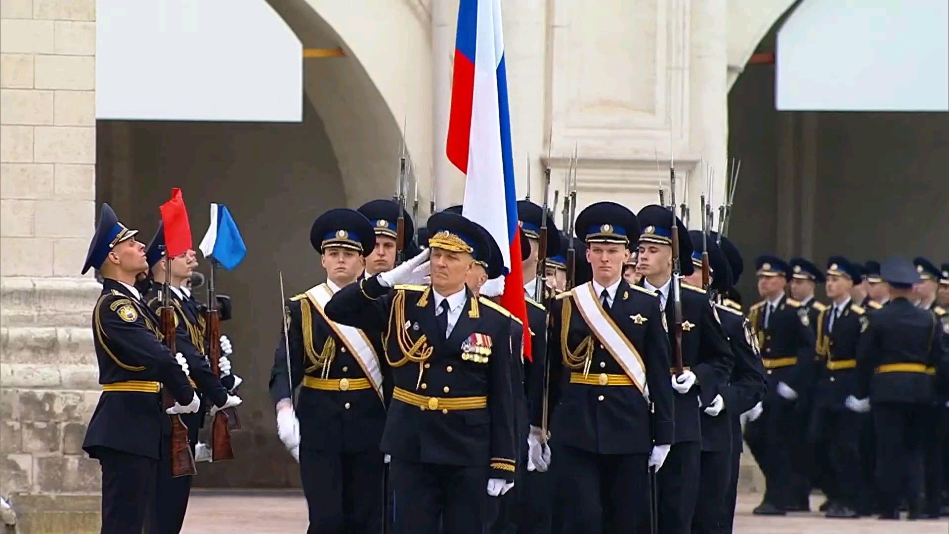2020年俄罗斯卫国战争胜利75周年-克里姆林宫小型阅兵