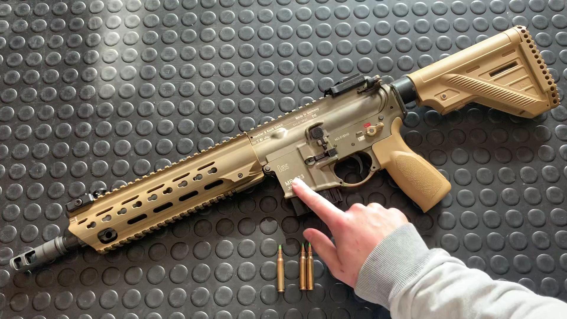 MR223A3步枪评测 hk416步枪民用版本