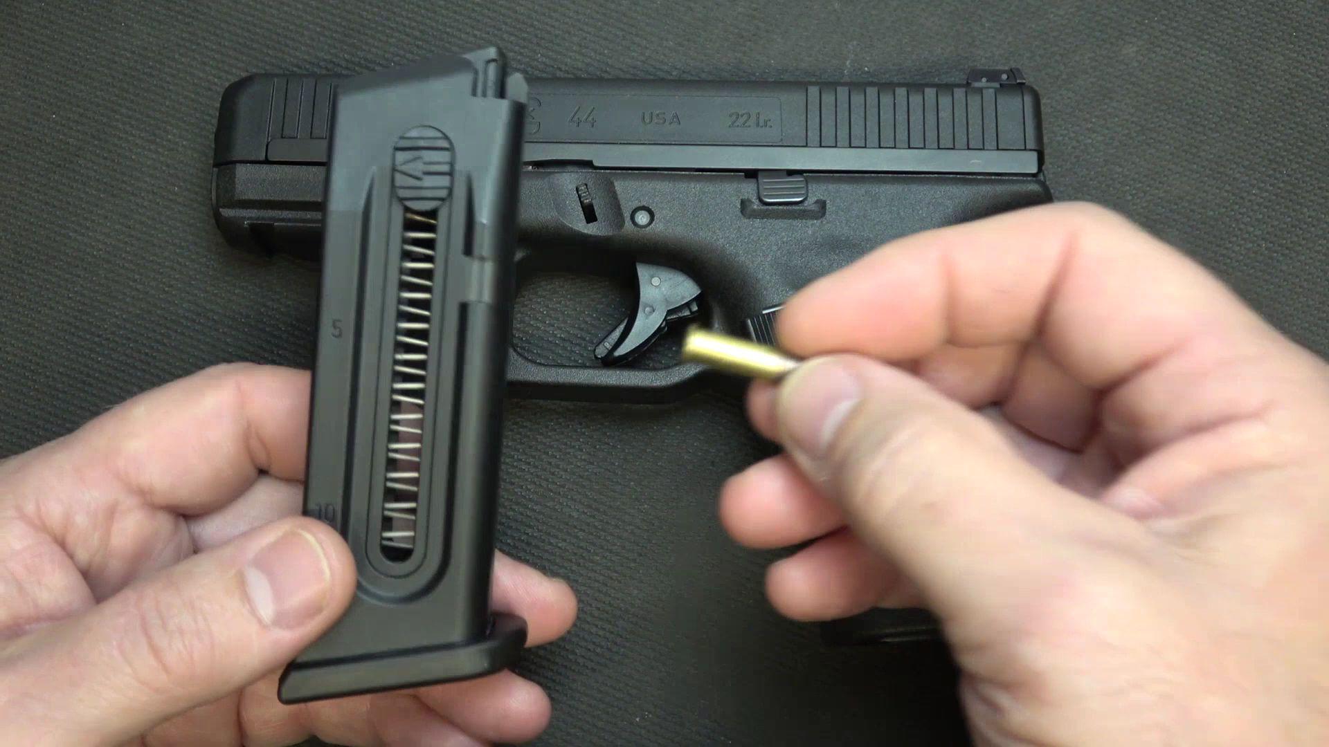 Glock44 .22Lr手枪评测