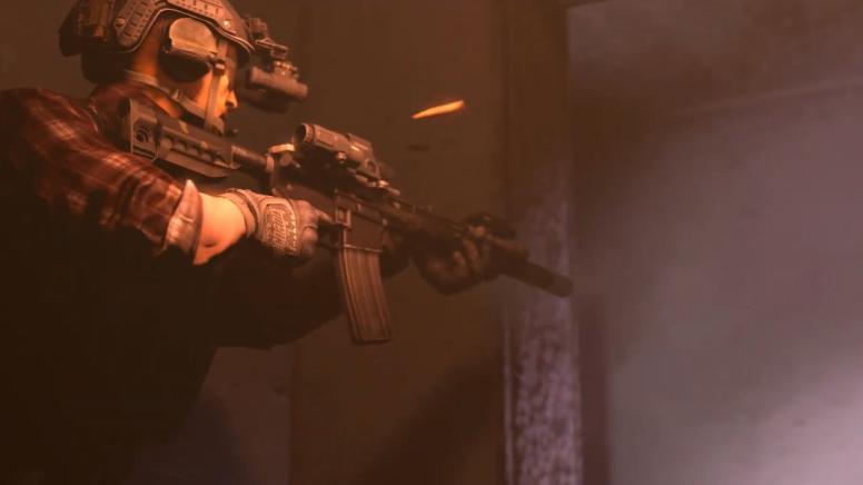 一段行云流水的室内战术动画/CQB