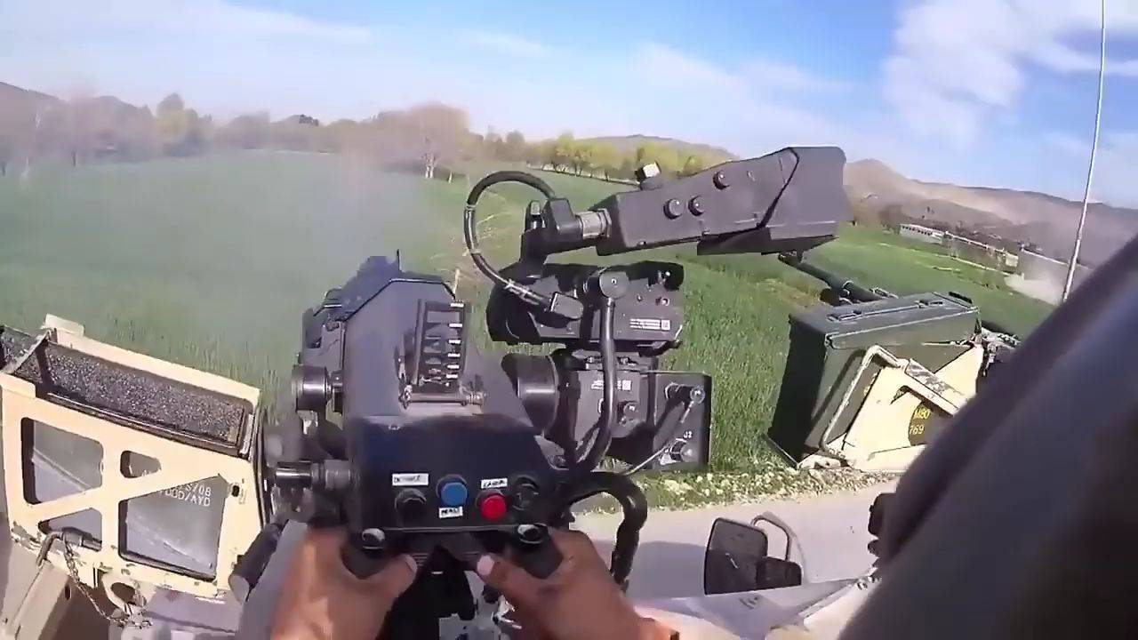 美军特种部队阿富汗战斗片段