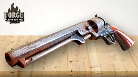 翻新一把柯尔特1851海军型左轮