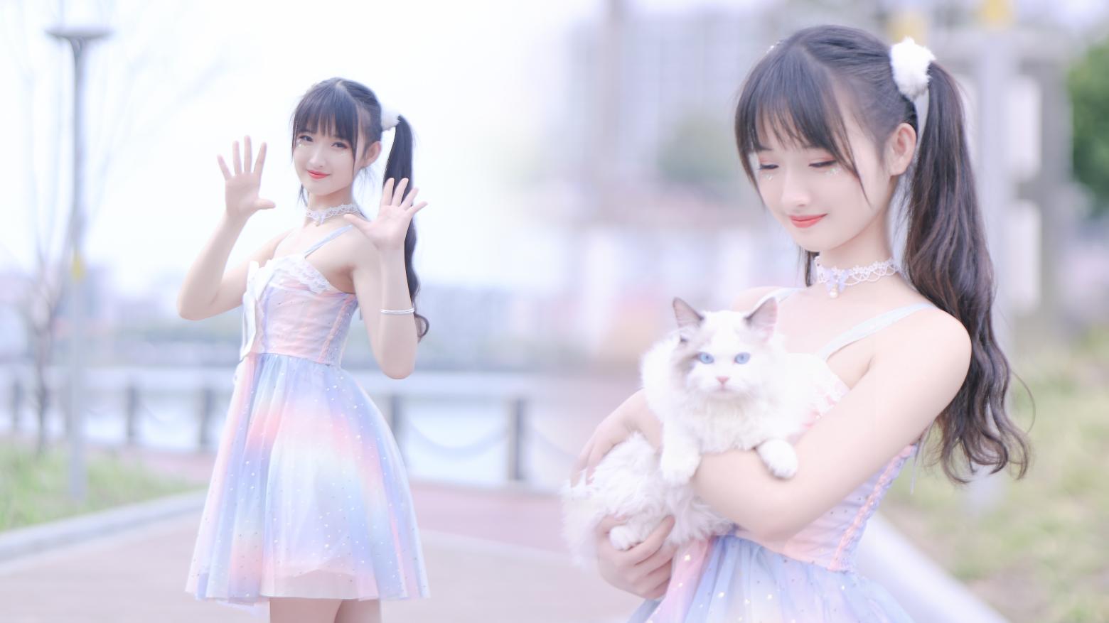 【阿晢】二次元广场舞♡彩虹节拍