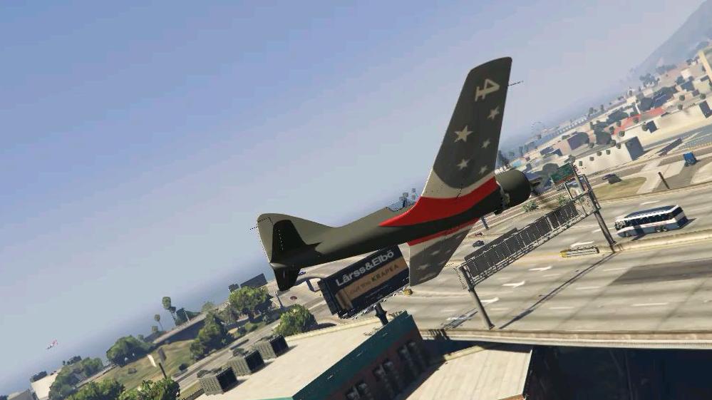 特技飞行员当场去世(GTA5)
