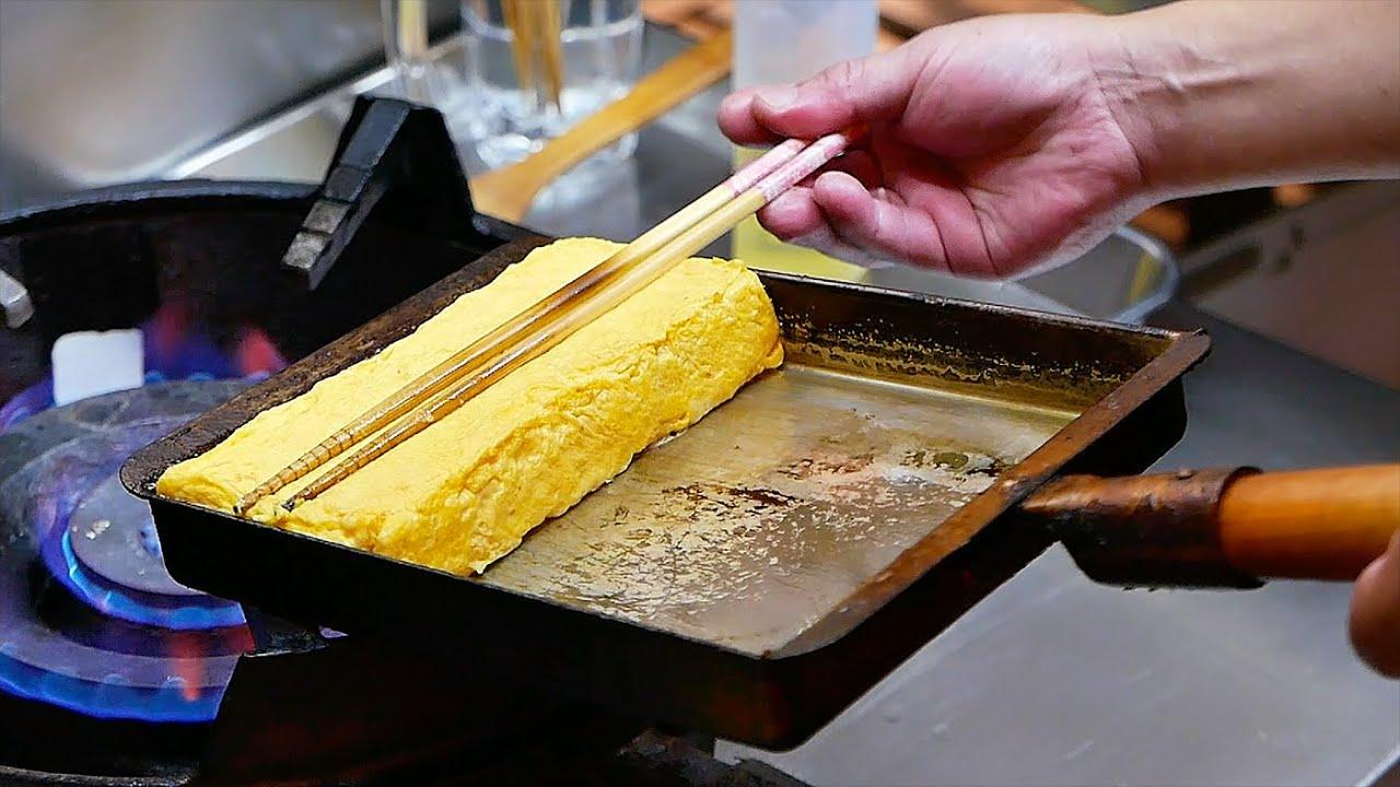 日本美食 - 海鲜煎蛋卷 冲绳 日本