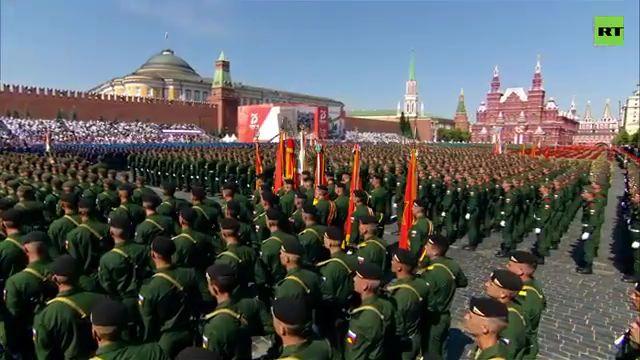 2020年6月24日俄罗斯庆祝伟大的卫国战争胜利75周年活动及阅兵式