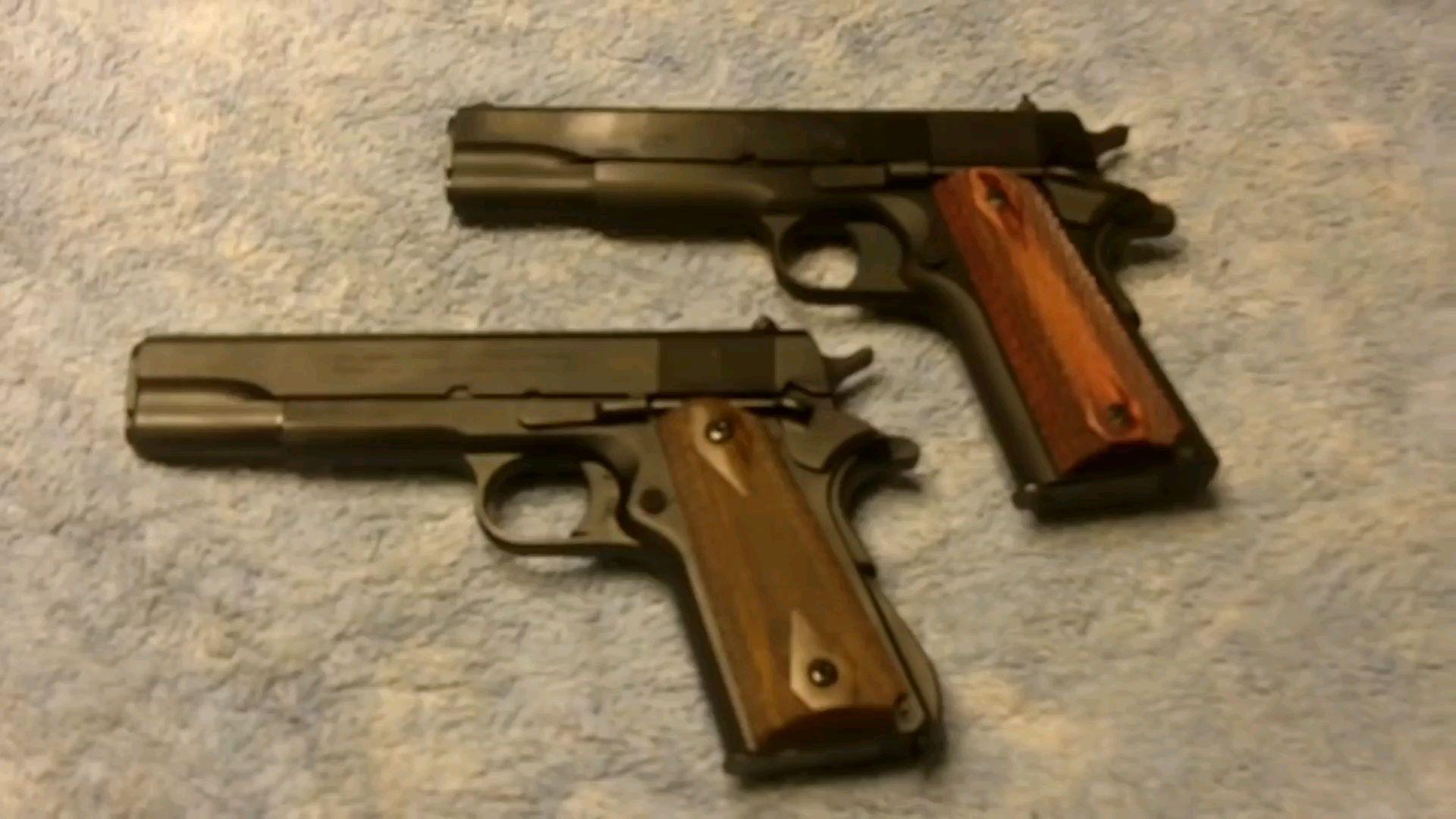 M1911模型对比( 上    流 )