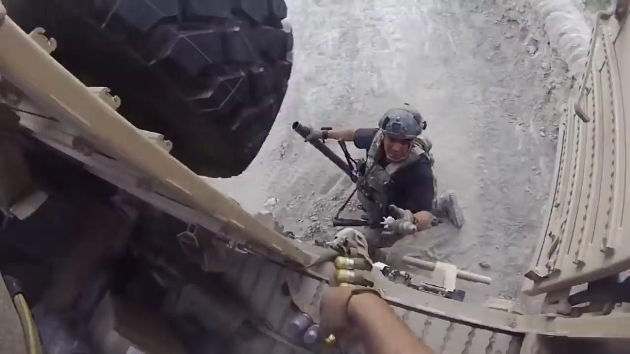 美军特种部队在阿富汗的常规反伏击作战
