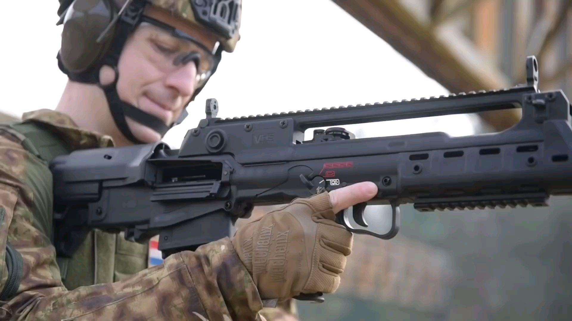 【熟肉/克罗地亚语】Cro Ops测评HS Produkt公司 VHS-2系列突击步枪