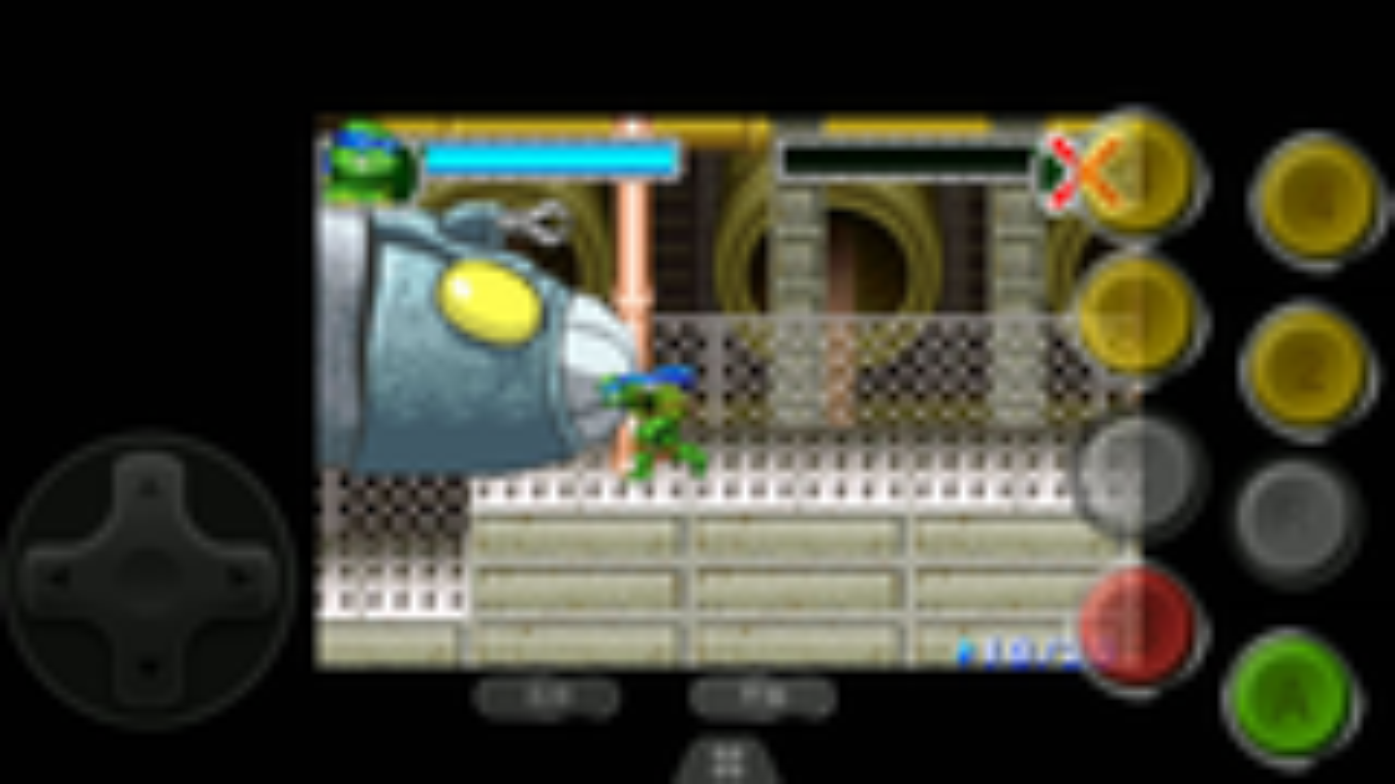 GBA忍者神龟2  1