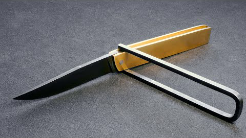 刀制作-十字折刀