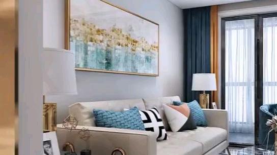 轻奢风格客厅设计欣赏