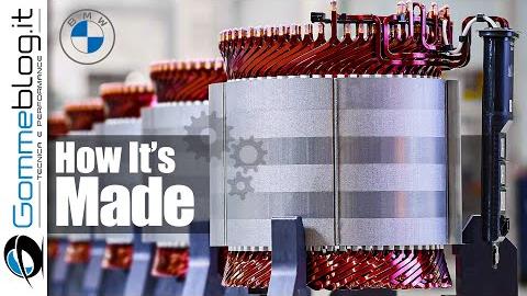 宝马电动车引擎生产工厂
