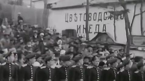 1922年 白卫军的最后一次游行 在弗拉迪沃斯托克(海参崴)