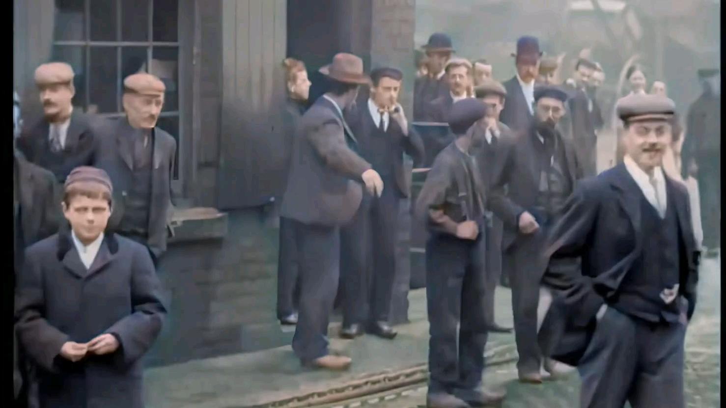 [60FPS]维多利亚时代的英国工人(1901)